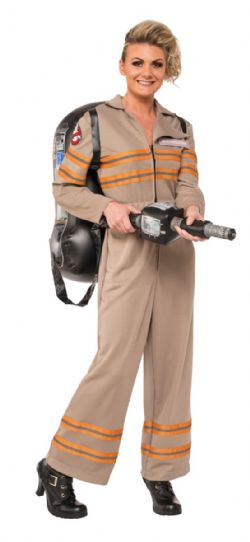 GHOSTBUSTER -  FEMALE GHOSTBUSTER COSTUME (ADULT) -  GOHSTBUSTER