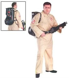 GHOSTBUSTERS -  GHOSTBUSTER COSTUME (ADULT - PLUS SIZE 46-52) 5002