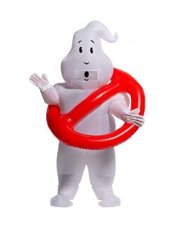 GHOSTBUSTERS -  NO GHOST INFLATABLE COSTUME (ADULT - ONE SIZE)