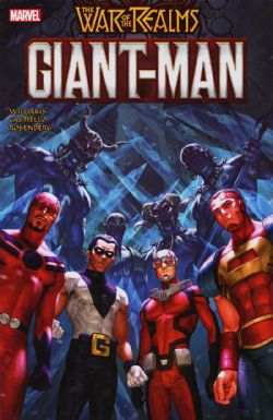 GIANT-MAN -  GIANT-MAN TP -  WAR OF REALM