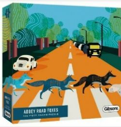 GIBSONS -  ABBEY ROAD FOXES (500 PIECES)