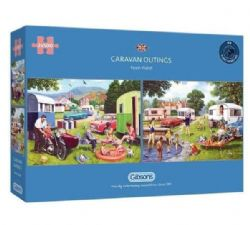 GIBSONS -  CARAVAN OUTINGS (2X500 PIECES)