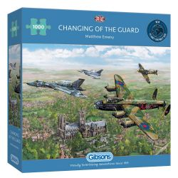 GIBSONS -  CHANGING OF THE GUARD (1000 PIECES)