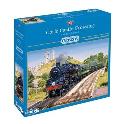 GIBSONS -  CORFE CASTLE CROSSING (500 PIECES)