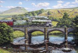 GIBSONS -  CROSSING THE RIBBLE (500 PIECES)