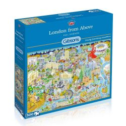 GIBSONS -  LONDON FROM ABOVE (500 PIECES)