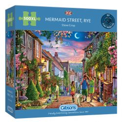 GIBSONS -  MERMAID STREET (500XL PIECES)