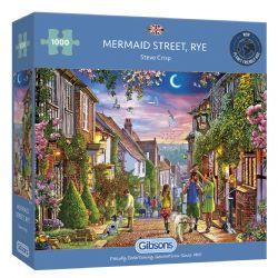 GIBSONS -  MERMAID STREET, RYE (1000 PIECES)