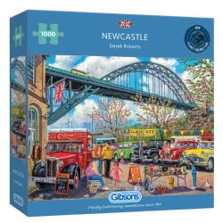 GIBSONS -  NEWCASTLE (1000 PIECES)