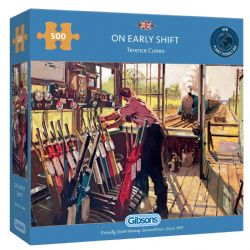 GIBSONS -  ON EARLY SHIFT (500 PIECES)