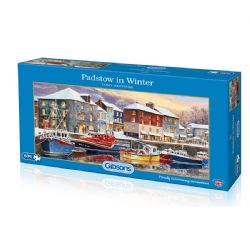GIBSONS -  PADSTOW IN WINTER (636 PIECES)