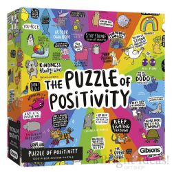 GIBSONS -  PUZZLE OF POSITIVITY (1000 PIECES)