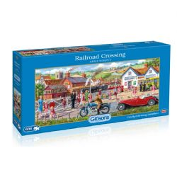 GIBSONS -  RAILROAD CROSSING (636 PIECES)