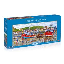 GIBSONS -  SEAGULLS AT STAITHES (636 PIECES)