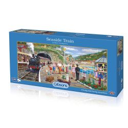 GIBSONS -  SEASIDE TRAIN (636 PIECES)