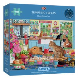 GIBSONS -  TEMPTING TREATS (1000 PIECES)
