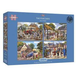 GIBSONS -  THE EVACUEES (4X500 PIECES)