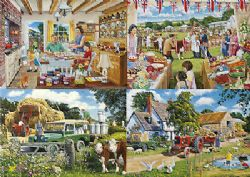 GIBSONS -  THE FARMER'S ROUND (4X500 PIECES)