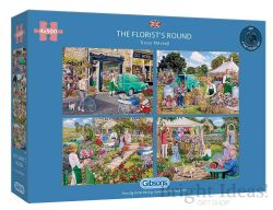 GIBSONS -  THE FLORIST'S ROUND (4X500 PIECES)