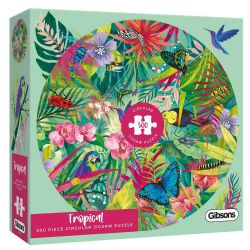 GIBSONS -  TROPICAL (500 PIECES)