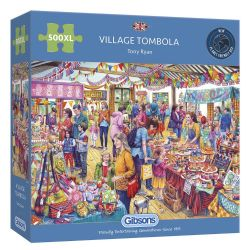 GIBSONS -  VILLAGE TOMBOLA (500 XL PIECES)