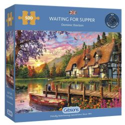 GIBSONS -  WAITING FOR SUPPER (500 PIECES)