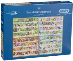 GIBSONS -  WOODLAND SEASONS (2000 PIECES)