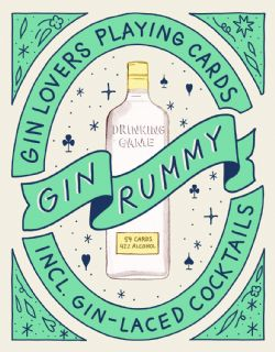 GIN LOVERS PLAYING CARDS -  GIN RUMMY