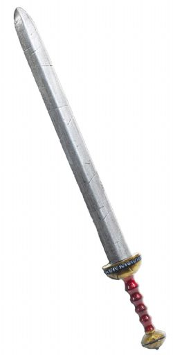 GLADIUS -  ROMAN GLADIUS / BRONZE / NOTCHED / MOLDED HANDLE (32