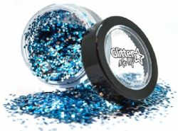 GLITTER -  GLITTER DUST - BIO BLUE -  GLITTER ME UP