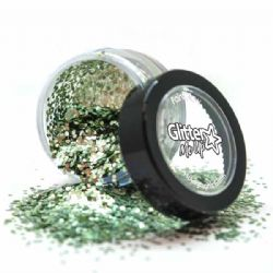 GLITTER -  GLITTER DUST - BIO GREEN -  GLITTER ME UP