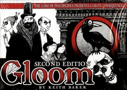 GLOOM 2ND EDITION -  THE GAME OF INAUSPICIOUS INCIDENTS & GRAVE CONSEQUENCES