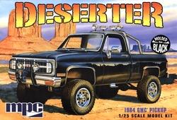 GMC -  PICKUP DESERTER 1984 1/25 (SKILL LEVEL 2) - BLACK