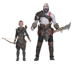 GOD OF WAR -  KRATOS & ATREUS 2 PACK ACTION FIGURE (7INCHES)