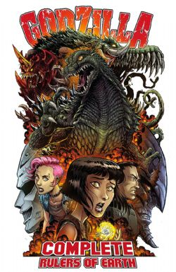 GODZILLA -  COMPLETE RULERS OF THE EARTH TP