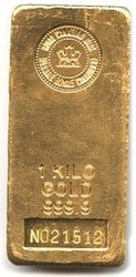 GOLD BARS -  1 KILOGRAM PURE GOLD BAR