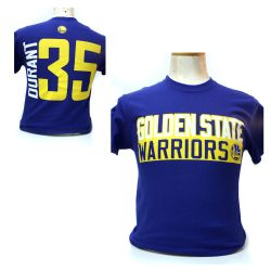 GOLDEN STATE WARRIORS -  BLUE KEVIN DURANT #35 T-SHIRT