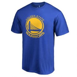 GOLDEN STATE WARRIORS -  LOGO T-SHIRT - BLUE