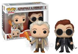 GOOD OMENS -  POP! VINYL FIGURE OF AZIRAPHALE AND CROWLEY (2 PACK) (4 INCH)