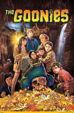 GOONIES, THE -  THE GOONIES - ONE SHEET