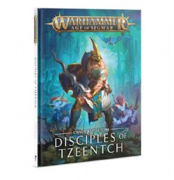 GRAND ALLIANCE CHAOS -  CHAOS BATTLETOME (ENGLISH) -  DISCIPLES OF TZEENTCH