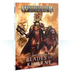 GRAND ALLIANCE CHAOS -  CHAOS BATTLETOME (FRENCH) -  BLADES OF KHORNE