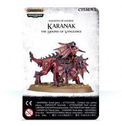 GRAND ALLIANCE CHAOS -  KARANAK, THE HOUND OF VENGEANCE -  BLADES OF KHORNE