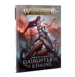 GRAND ALLIANCE ORDER -  ORDER BATTLETOME (ENGLISH) -  DAUGHTERS OF KHAINE