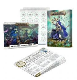 GRAND ALLIANCE ORDER -  WARSCROLL CARDS (FRENCH) -  LUMINETH REALM-LORDS