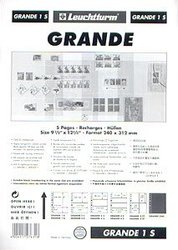 GRANDE -  5 STOCK SHEETS, 1 POCKET, BLACK