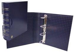 GRANDE -  EMPTY BLUE 4-RING ALBUM WITH SLIPCASE