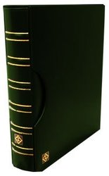 GRANDE -  GREEN 3-RING-BINDER IN CLASSIC DESIGN WITH SLIPCASE