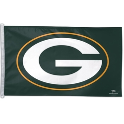 GREEN BAY PACKERS -  3' X 5' HORIZONTAL FLAG