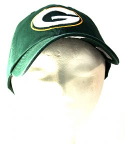 GREEN BAY PACKERS -  ADJUSTABLE GREEN CAP